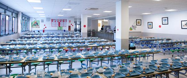 Comedor arula for Comedor de escuela